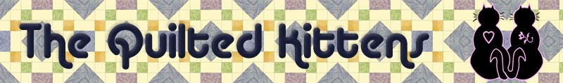 The Quilted Kittens Banner